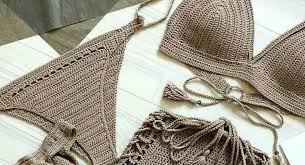 Inspiration. Knit and Crochet Swimsuits.