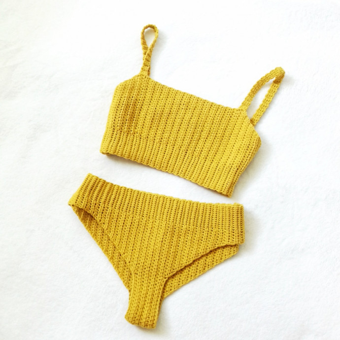 Inspiration. Crochet Swimsuits.