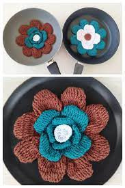 Inspiration. Crochet Pan Protection.