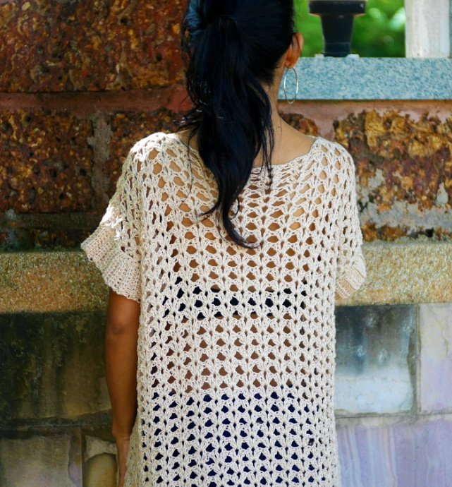 Long Crochet Tunic
