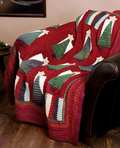 Helping our users. ​Crochet Christmas Blanket.