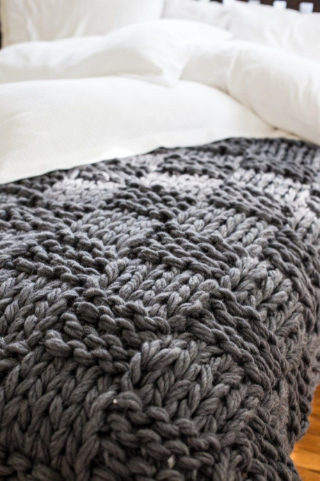 Inspiration. Chunky Blankets.