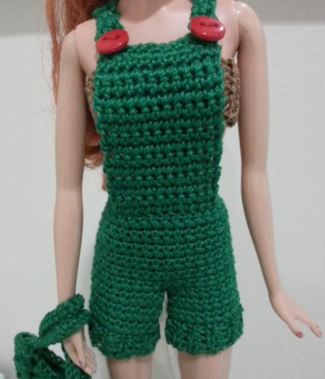 Helping our users. ​Crochet Romper for Barbie Doll.